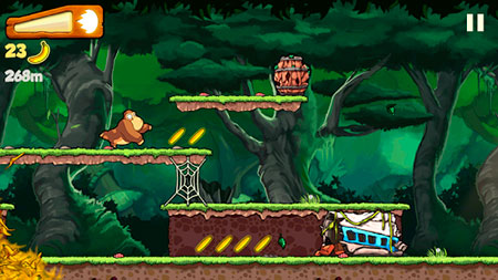 Banana Kong Game for Android and iOS