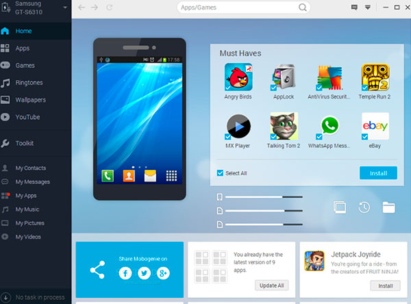 download mobogenie apk for android and windows