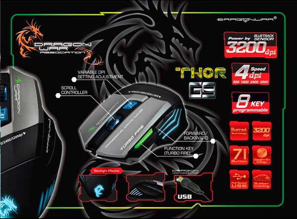 15e62789d07 DRAGON WAR G9 THOR Review, Drivers, Features and More
