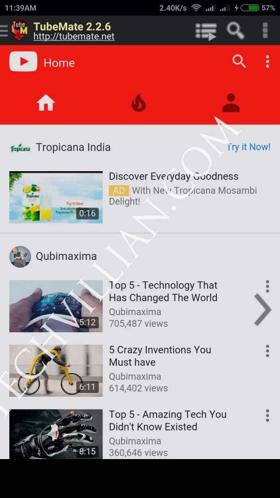 tubemate android apk 4