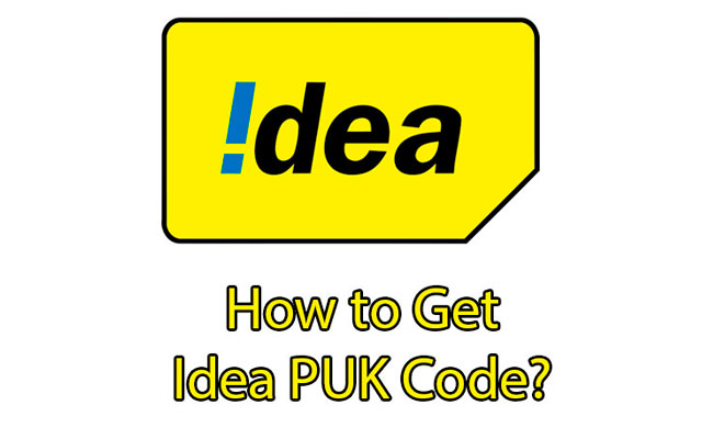 Idea PUK Code
