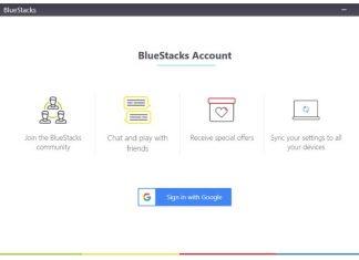 bluestacks account